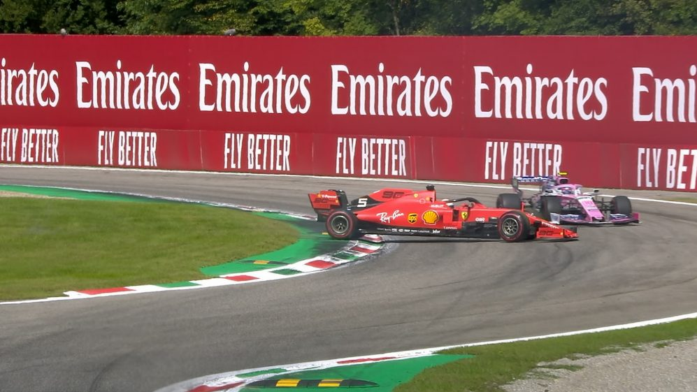 Italian GP: Vettel's dramatic Ascari spin costs Stroll and Gasly