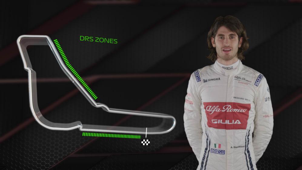 ITALY: Antonio Giovinazzi's Monza circuit guide