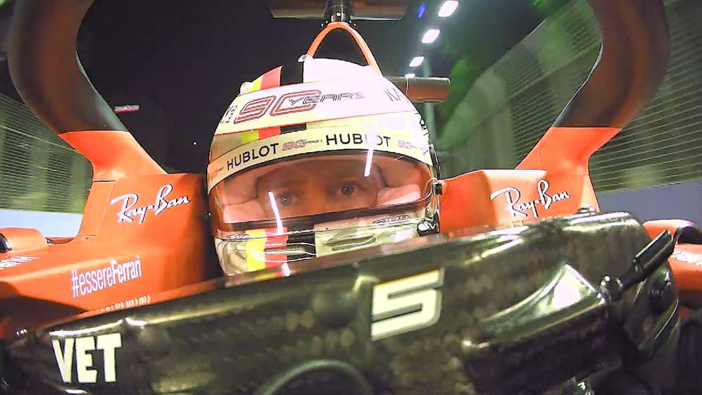 MAXIMUM CONCENTRATION: A face-cam lap of Singapore with Sebastian Vettel