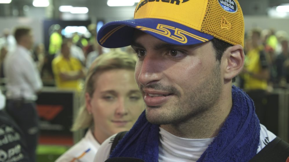 Carlos Sainz: Disappointed as 'today was such an easy P7'