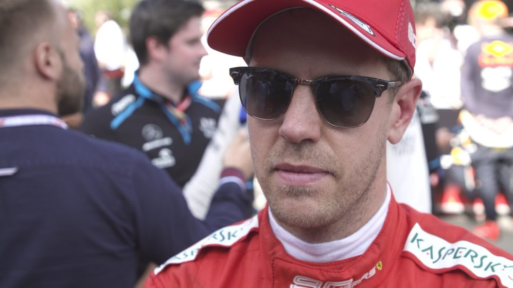 Sebastian Vettel: Spin 'came a bit by surprise'