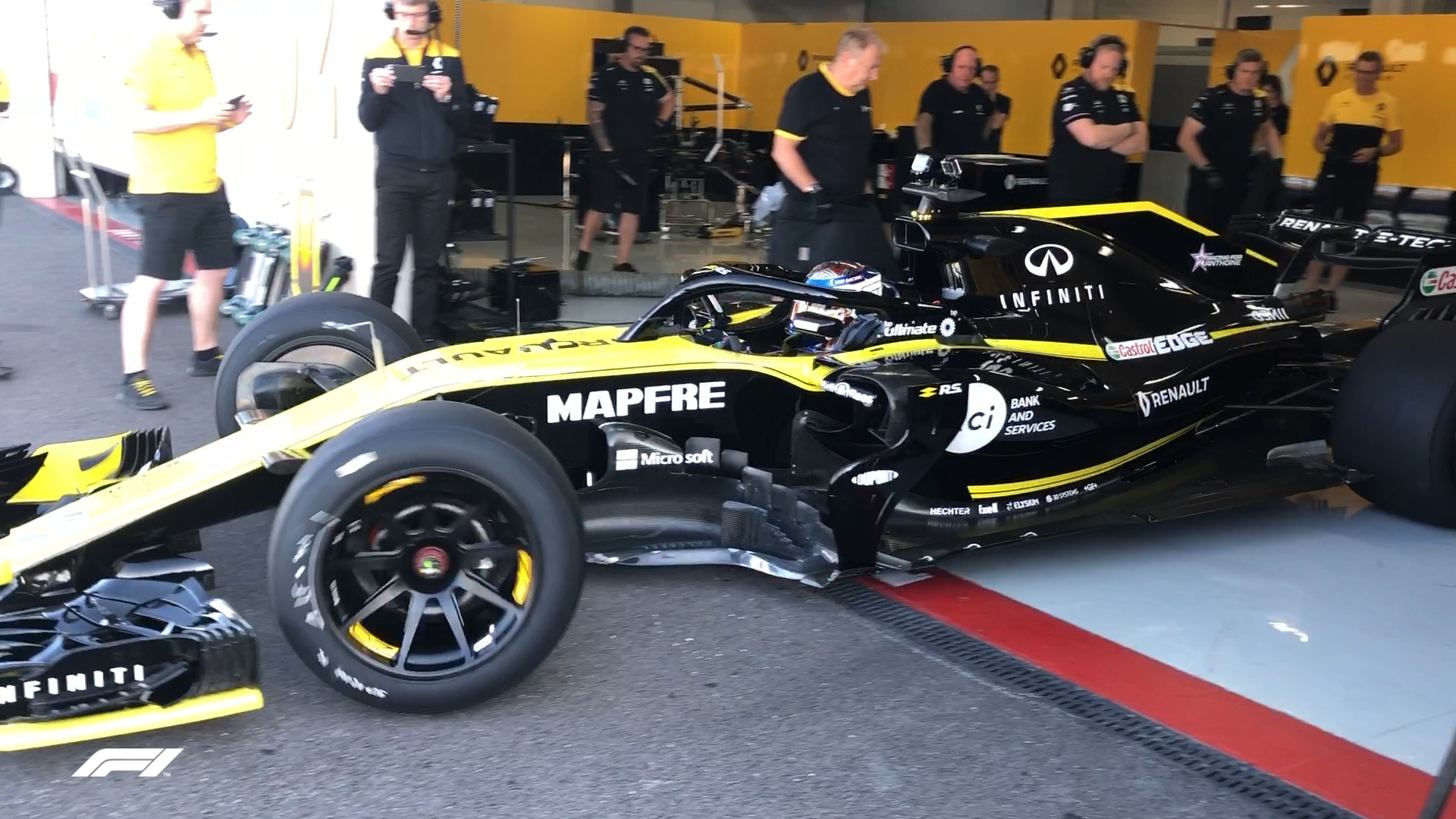 WATCH: First footage of an F1 car on 18-inch tyres ...