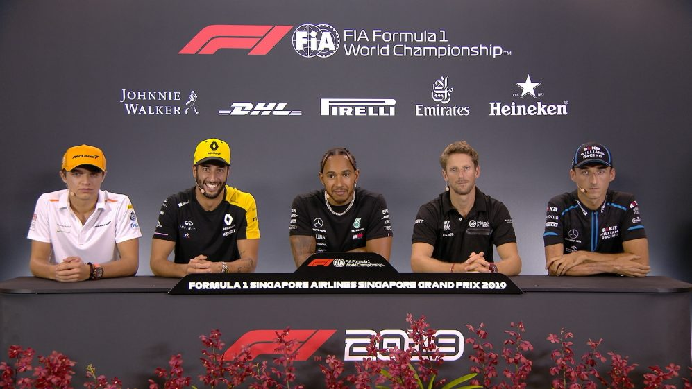 SINGAPORE: FIA pre-race press conference highlights​