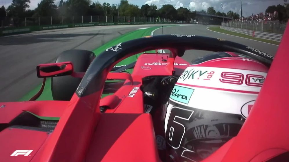 ONBOARD: Charles Leclerc's Italian Pirelli pole position lap