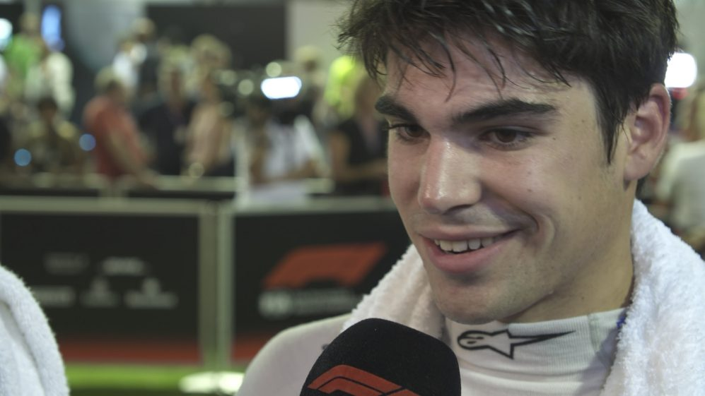 Lance Stroll: Points were available 'before I hit the wall'
