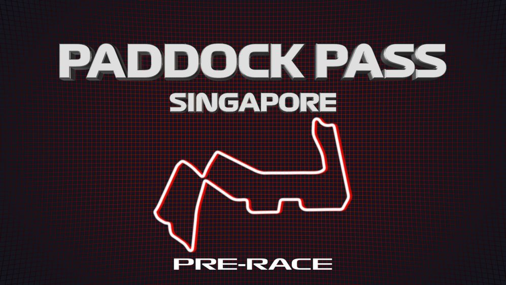 PADDOCK PASS: Pre-race at the 2019 Singapore Grand Prix