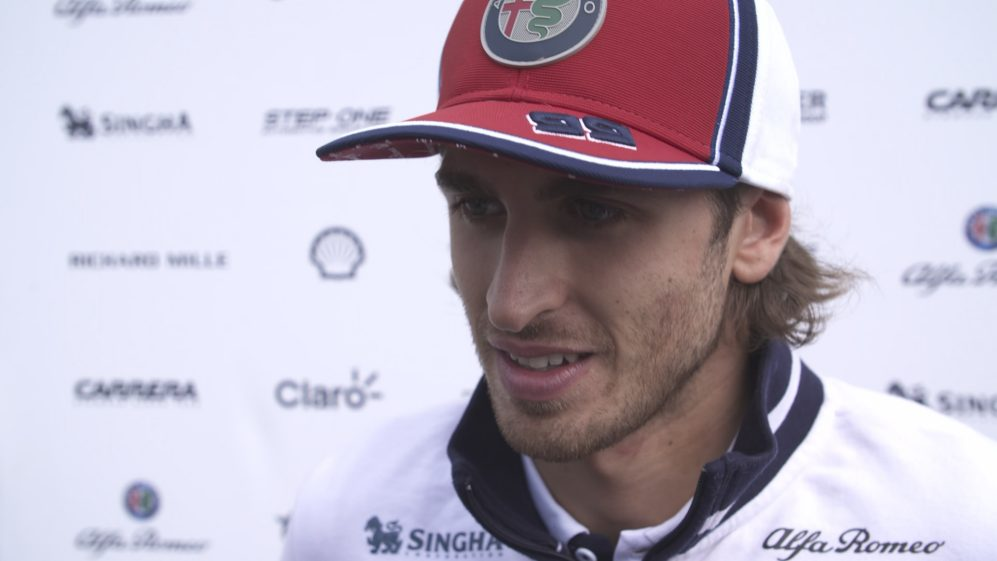 Antonio Giovinazzi hails 'great day' after career-best finish