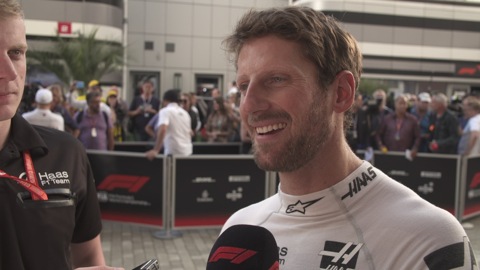 Romain Grosjean: Our race pace has been encouraging