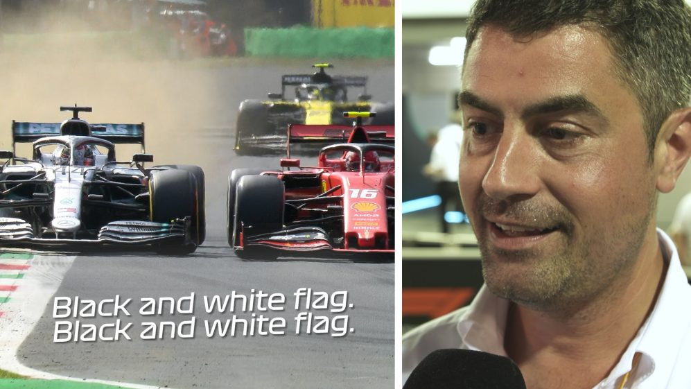 Michael Masi & F1 drivers discuss black and white flag rules