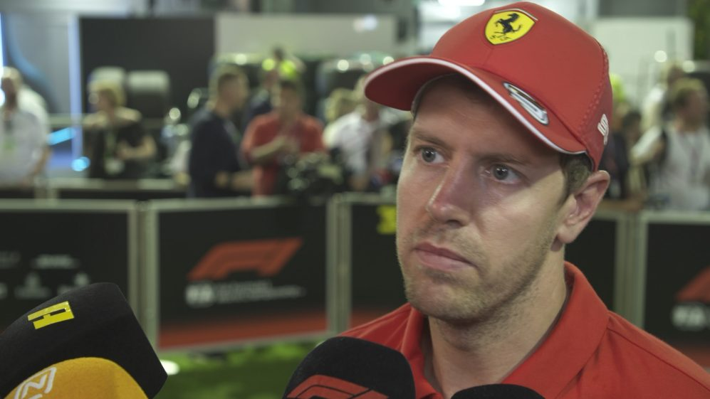 Sebastian Vettel: 'You enjoy the moment, and you look forward'