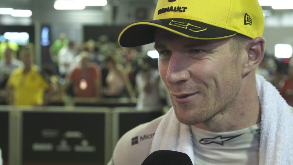 Nico Hulkenberg: I was 'on the back foot' after puncture