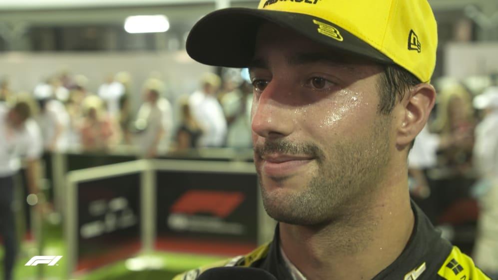 Daniel Ricciardo: McLaren 'had pace on us all weekend'