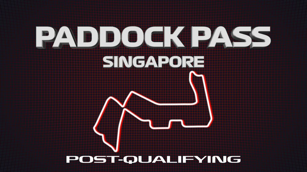 PADDOCK PASS: Post-Qualifying at the 2019 Singapore Grand Prix