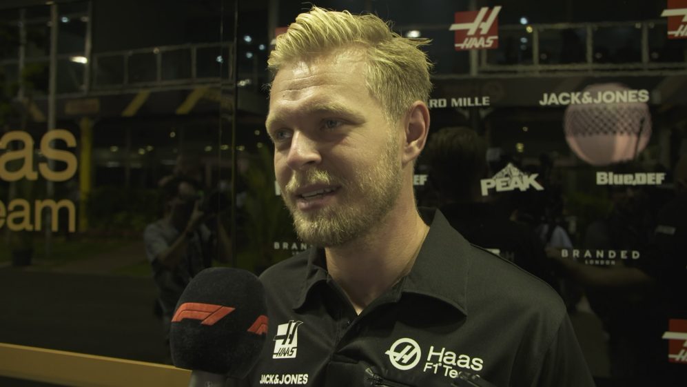 Kevin Magnussen: 'I'm Happy' Grosjean will remain at Haas