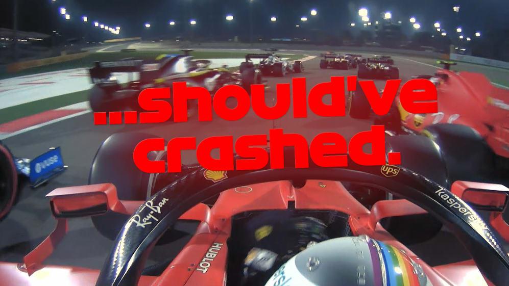 2020 Bahrain Grand Prix: Vettel rages at team mate Leclerc