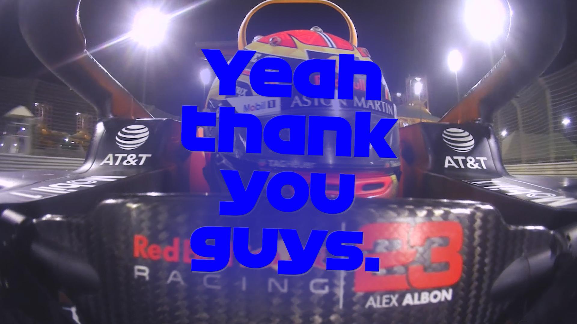 2020 Bahrain Grand Prix: Red Bull react after Albon grabs podium