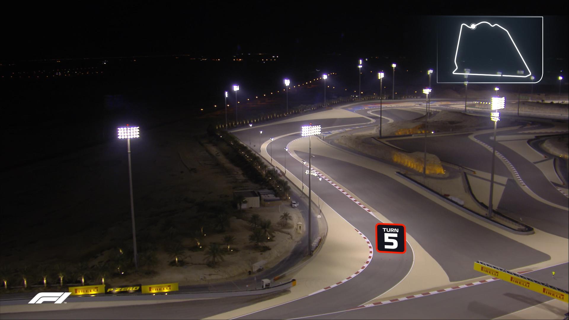 Bird's eye view: Bahrain International Circuit's outer track corner by corner