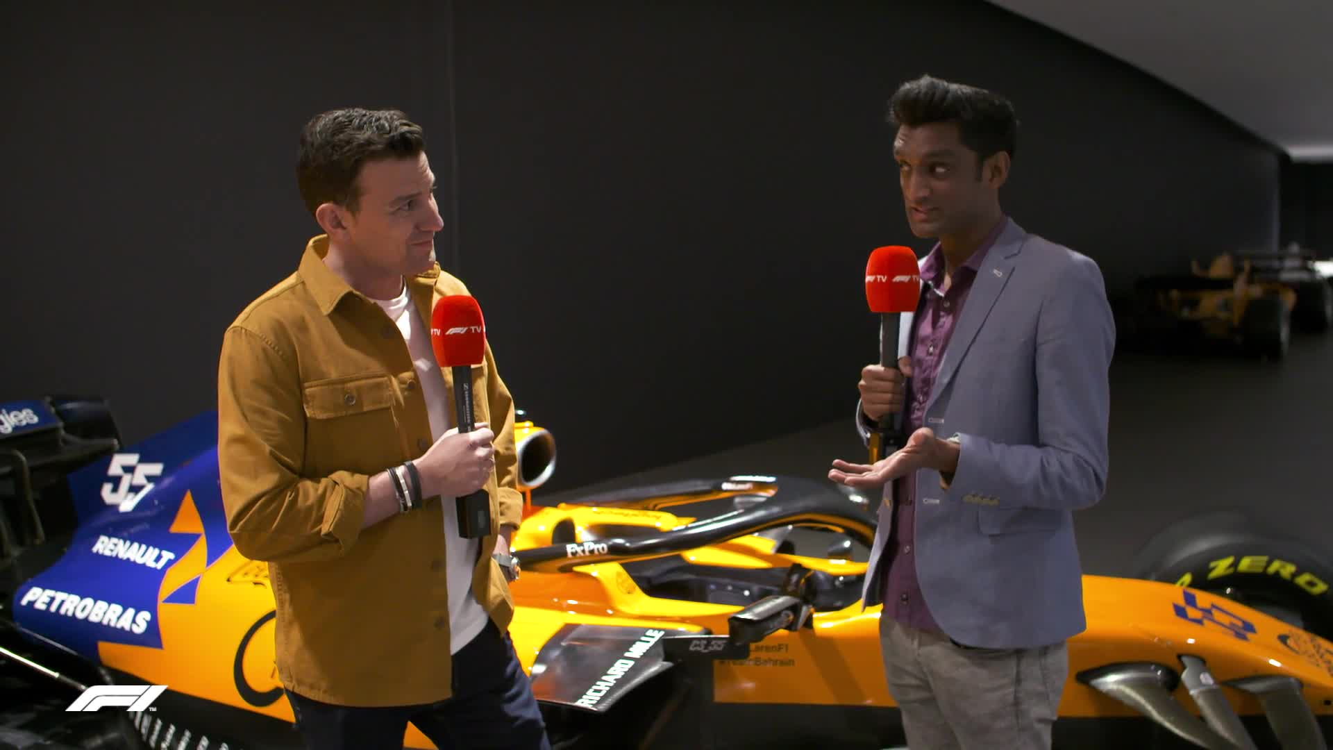 Inside McLaren's Car Launch