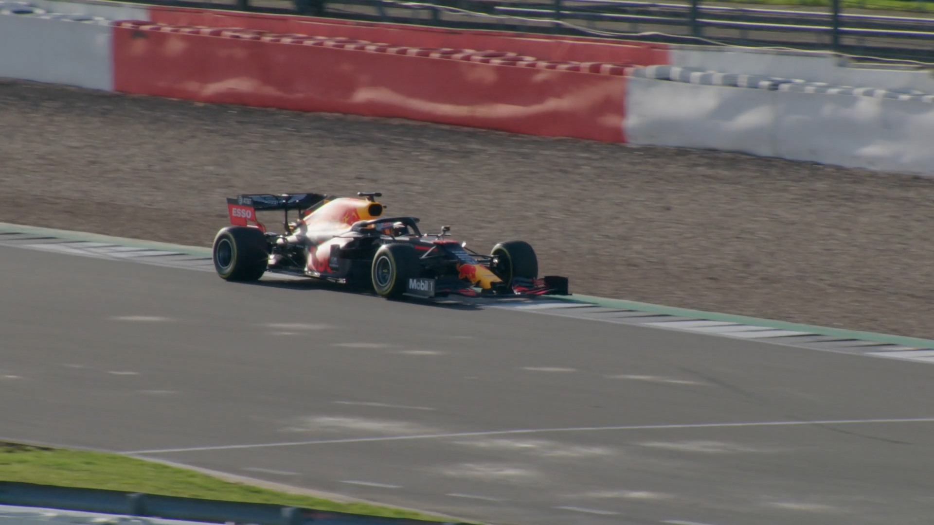 First 2020 car on track: Red Bull's RB16 in action