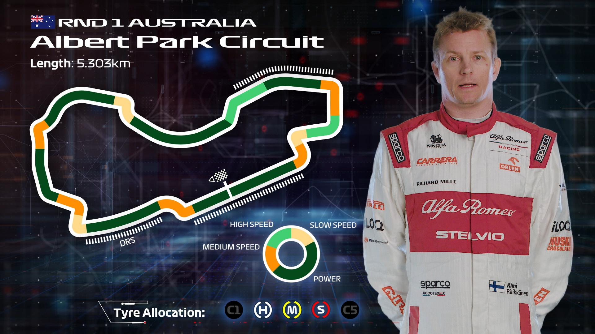 AUSTRALIA: Kimi Raikkonen's Melbourne circuit guide