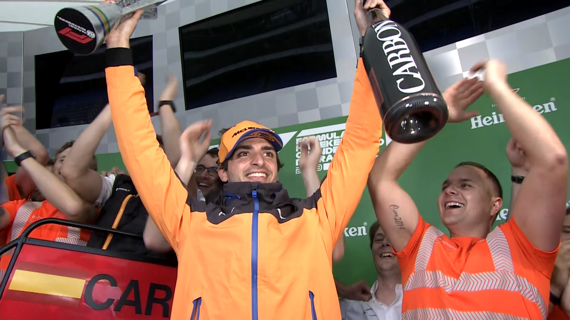 Carlos Sainz to Ferrari: His Top 5 F1 Races