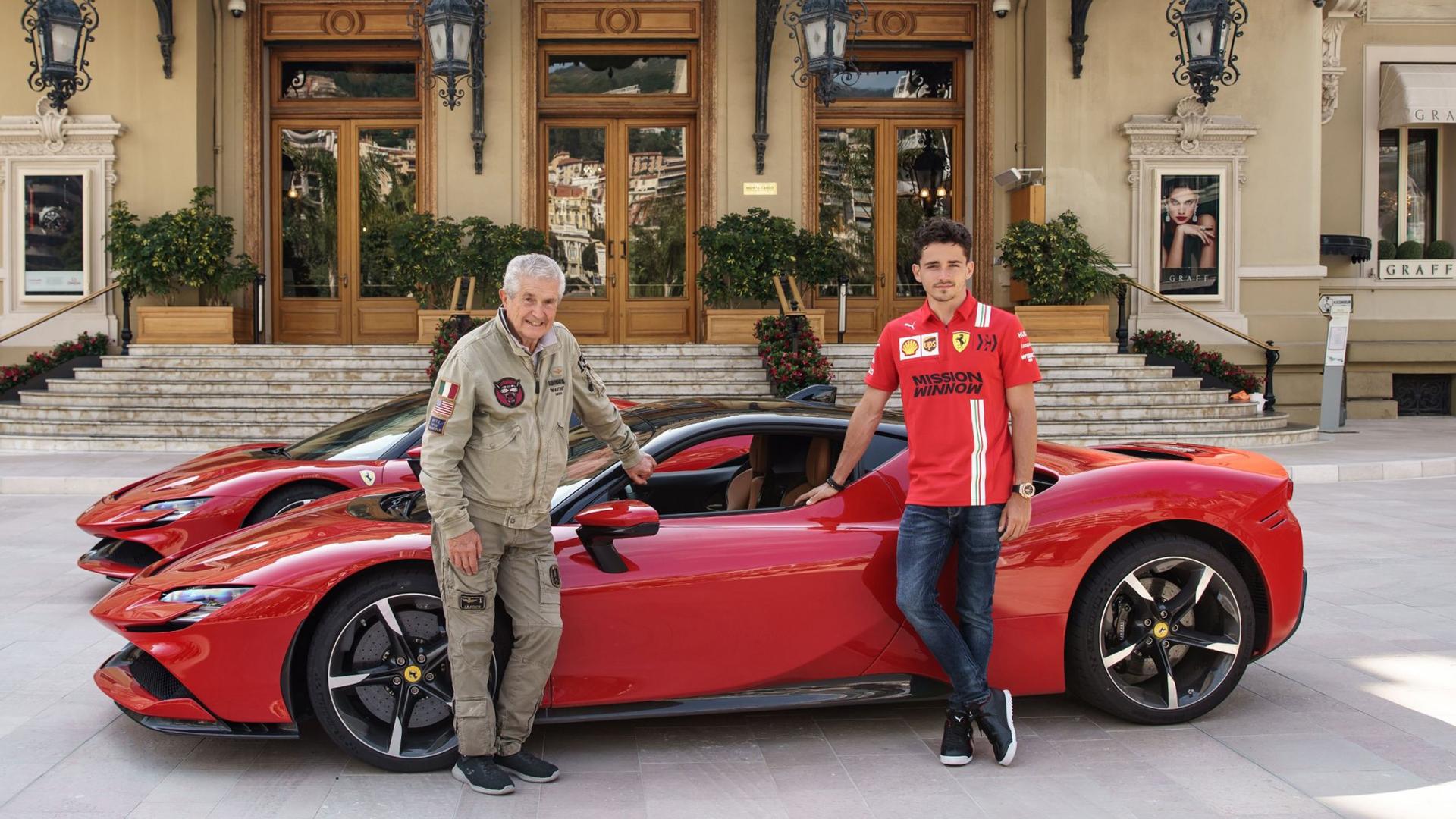 Watch Charles Leclerc Turns Stunt Driver As He Blasts A Ferrari Sf90 Around Monaco For C Etait Un Rendez Vous Tribute Formula 1