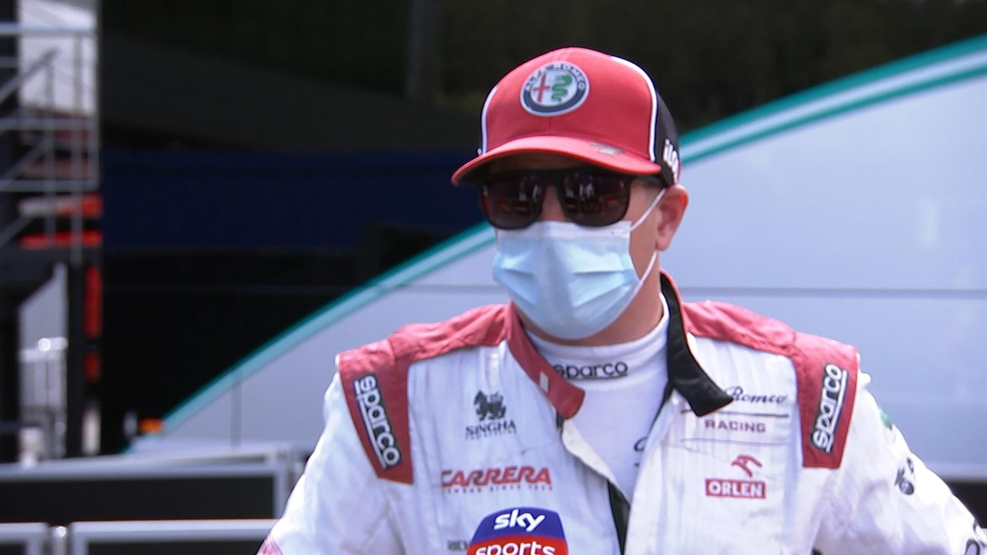 Kimi Raikkonen: 'It's where we are right now'