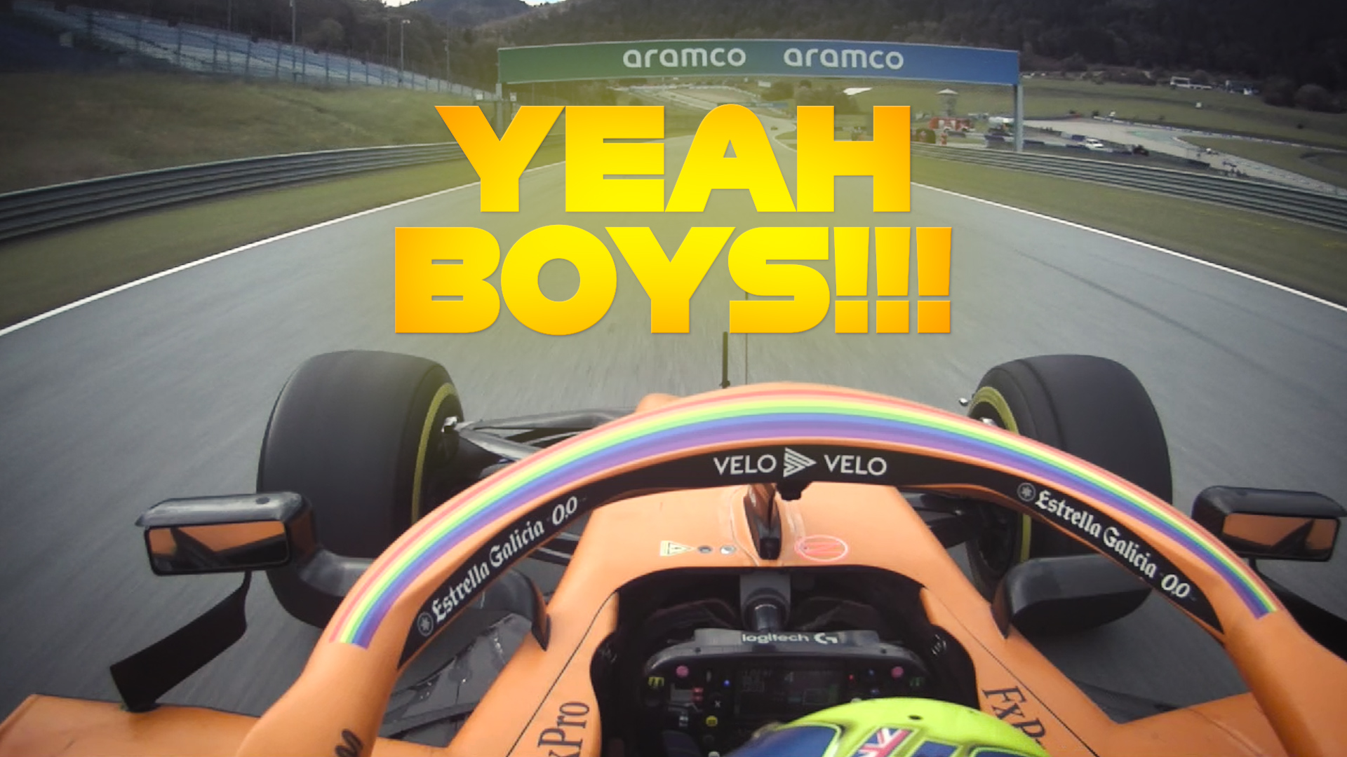 Styrian Grand Prix: Lando Norris's incredible last two laps