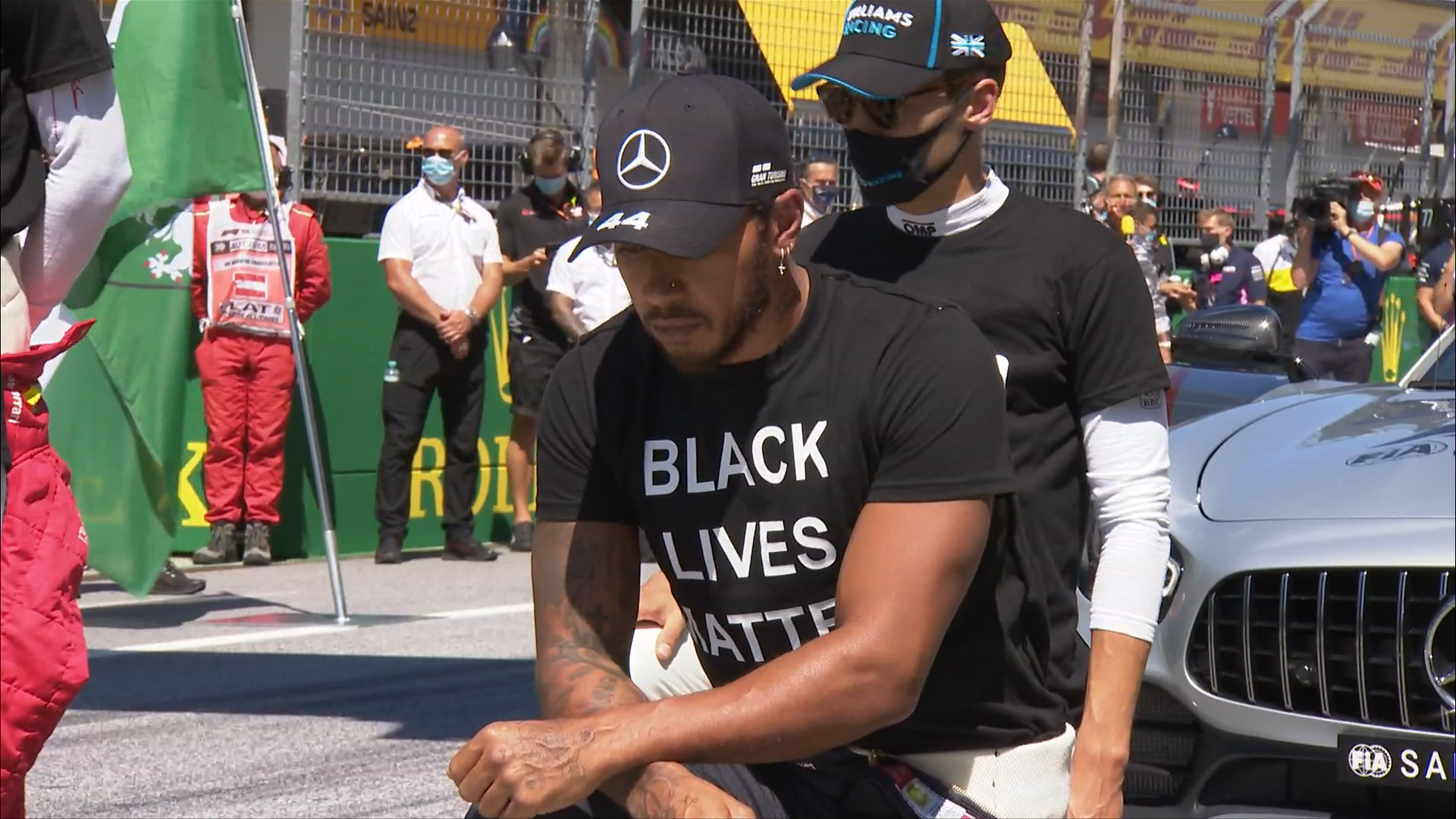 Formula 1 'stands as one' to end racism at 2020 Austrian Grand Prix