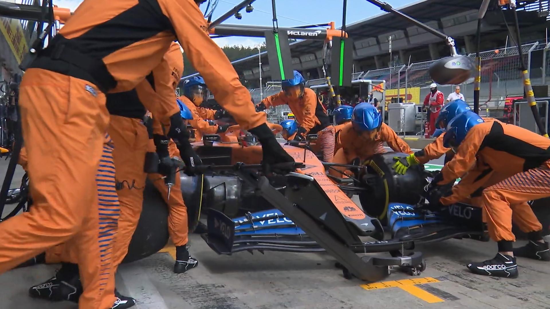 Styrian Grand Prix: Slow pit stop costs Carlos Sainz
