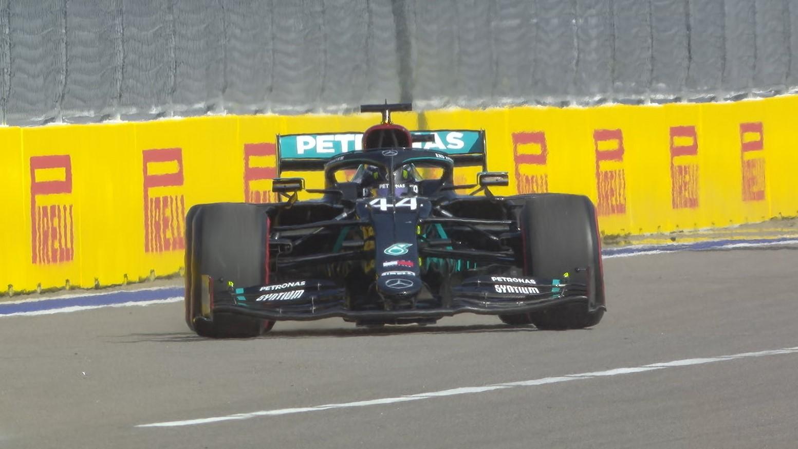 2020 Russian Grand Prix: Hamilton under investigation for practice start