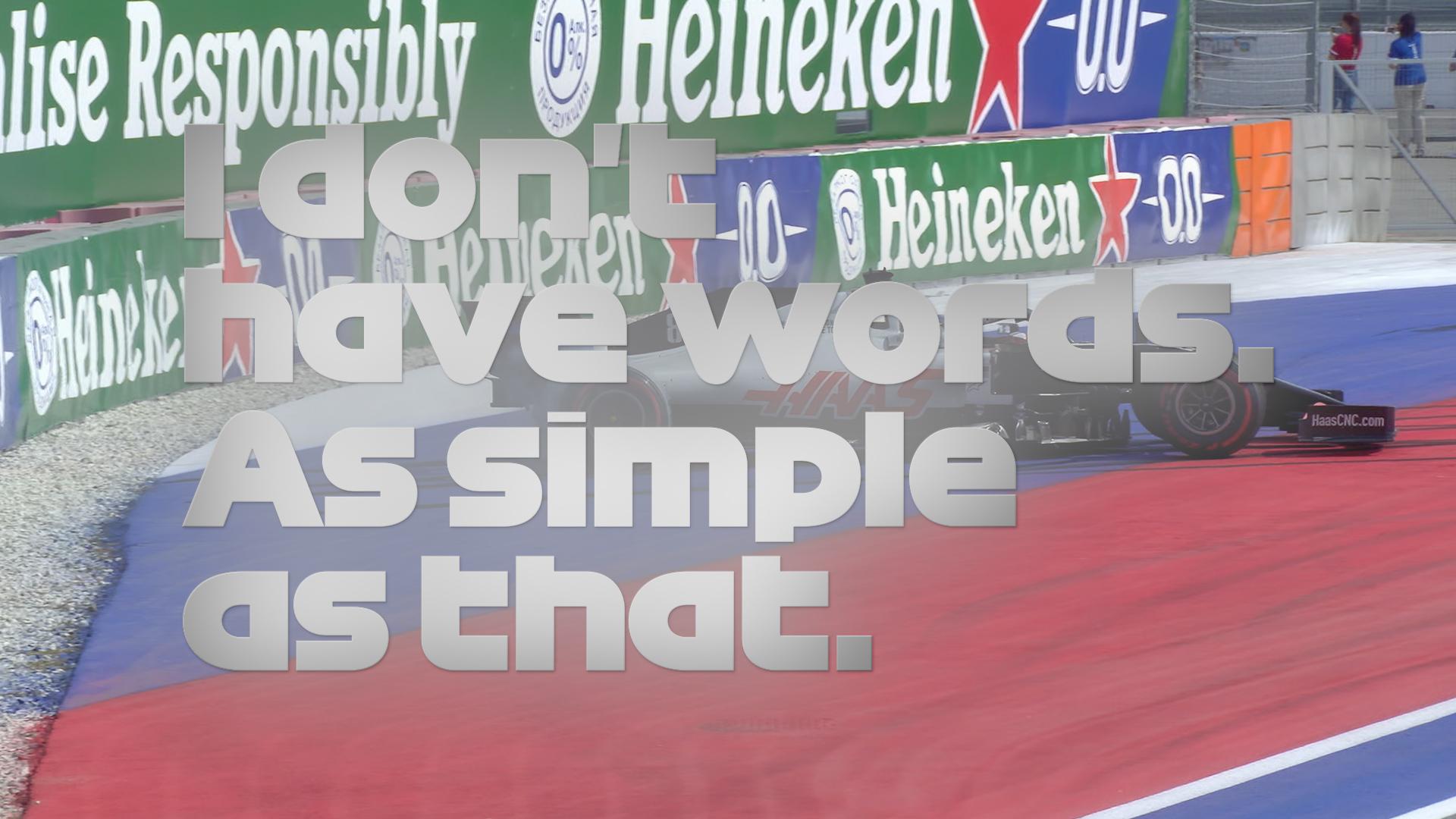 2020 Russian GP FP3: Angry Grosjean 'almost crashing every corner'