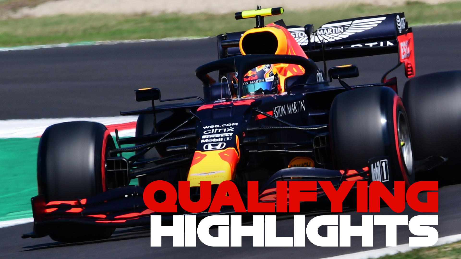 Highlights Watch All The Action From Tuscan Gp Qualifying As Hamilton Grabs Pole From Bottas Formula 1