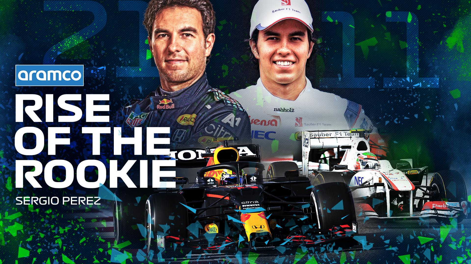 Saksikan perjalanan Sergio Perez dari jagoan muda menjadi pemenang Grand Prix di Rise of the Rookie