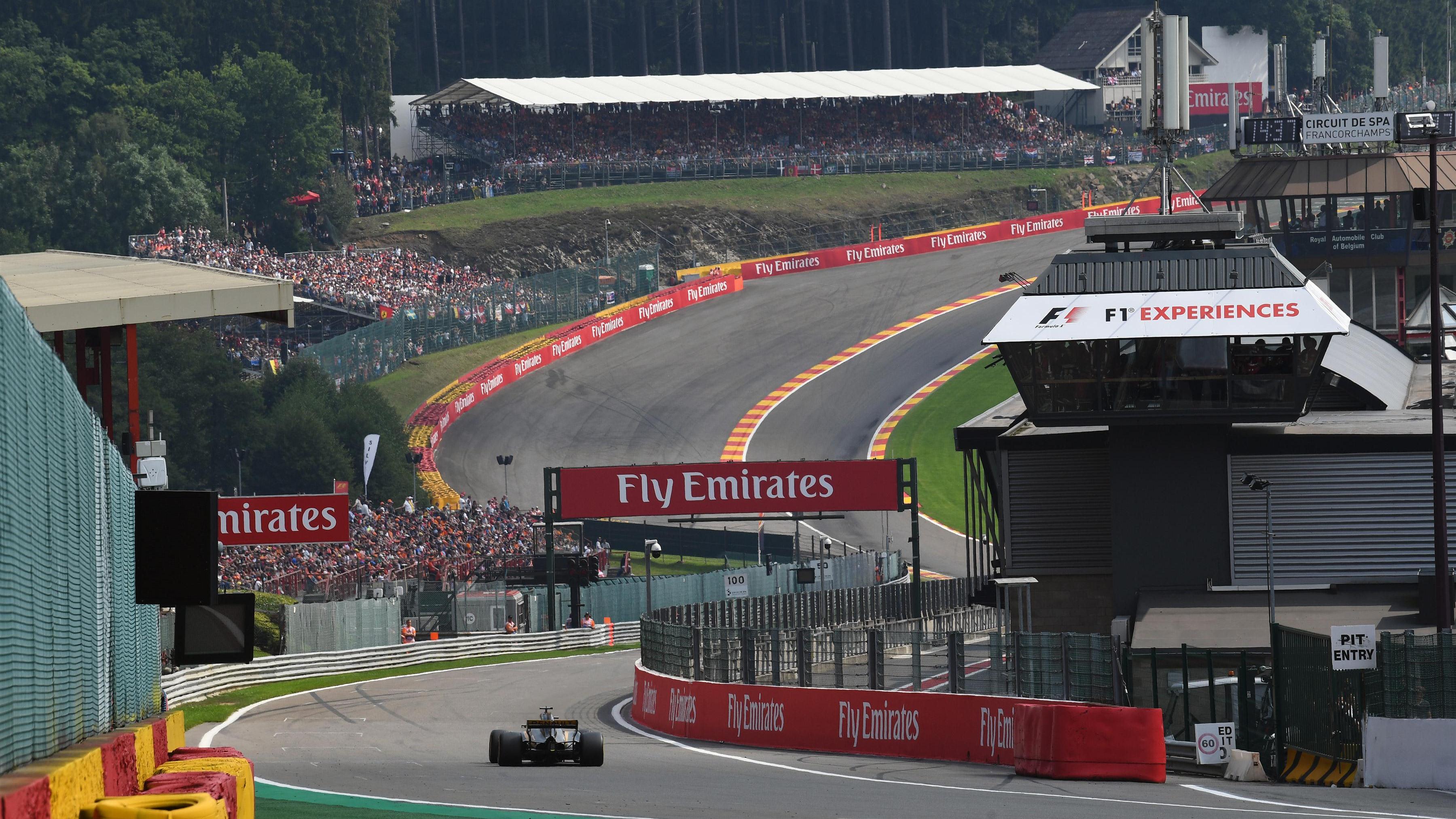 F1 Belgien 2021