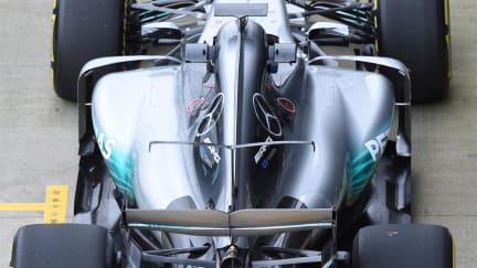 Mercedes-Benz F1 W08 Hybrid First Run