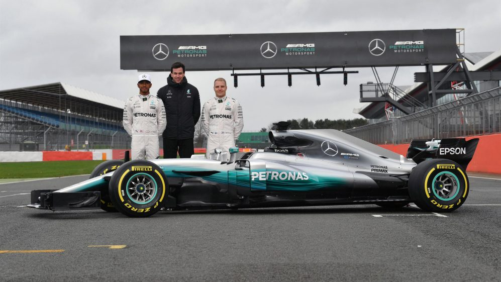 Mercedes-Benz F1 W08 Hybrid Launch