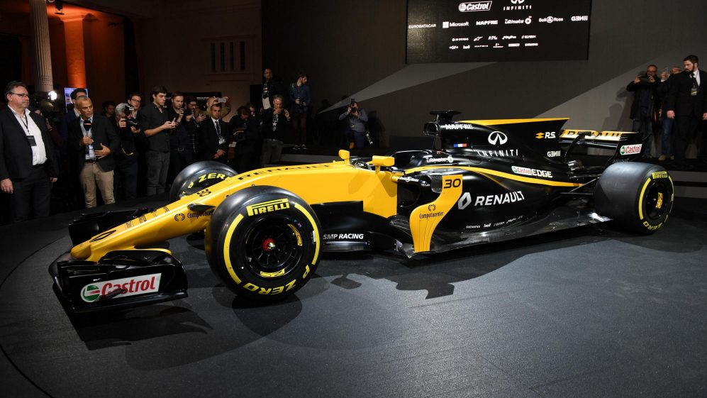 Renault Sport F1 Team RS17 Reveal