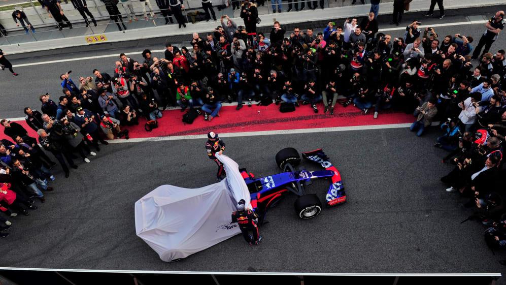 Scuderia Toro Rosso STR12 Launch
