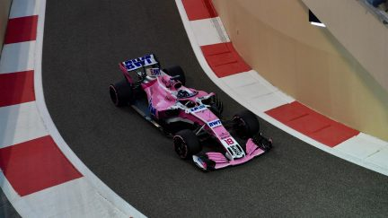 Canadian F1 driver Lance Stroll joins father's Force India team