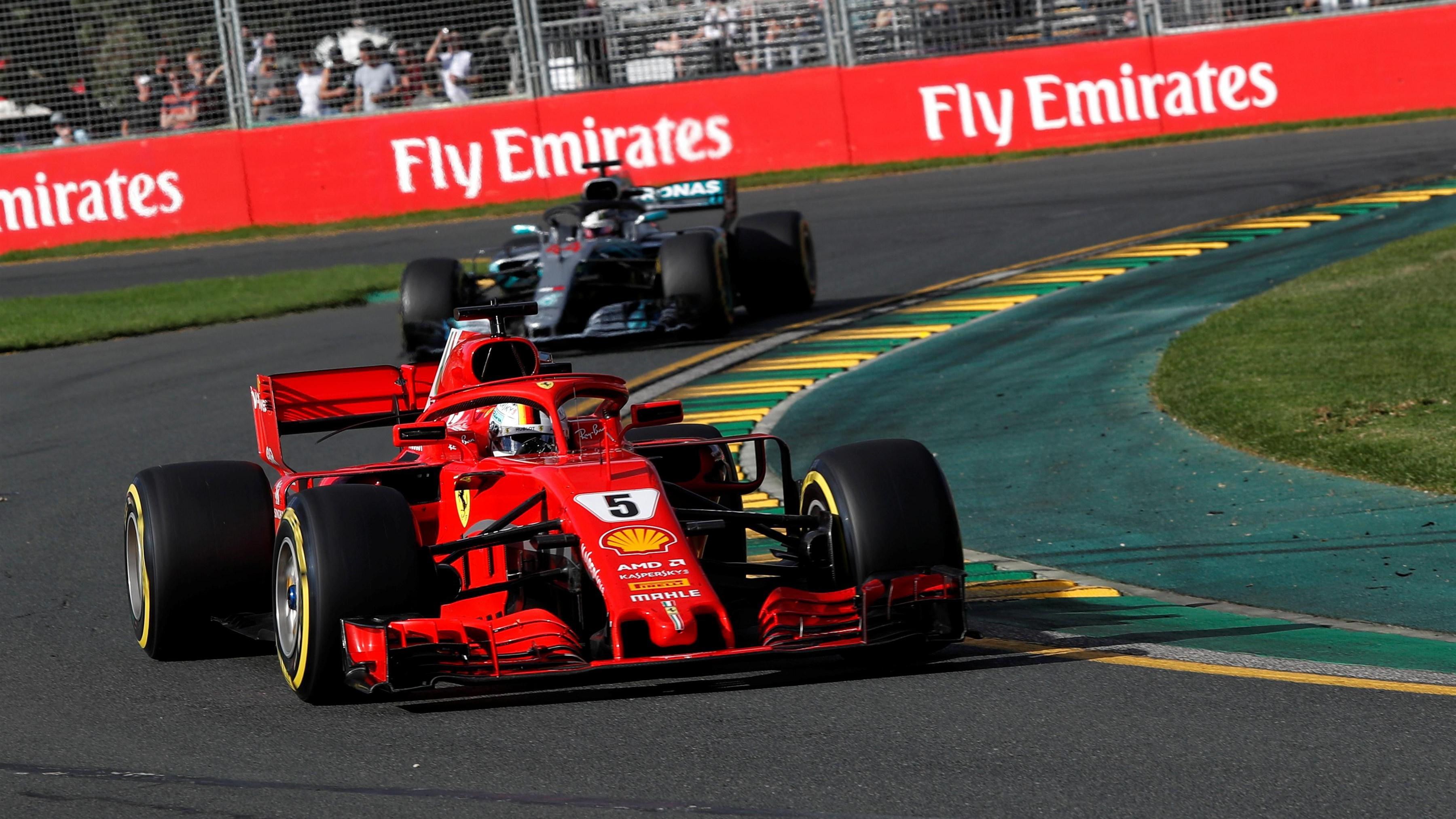 race vettel stuns hamilton with ferrari victory. Black Bedroom Furniture Sets. Home Design Ideas