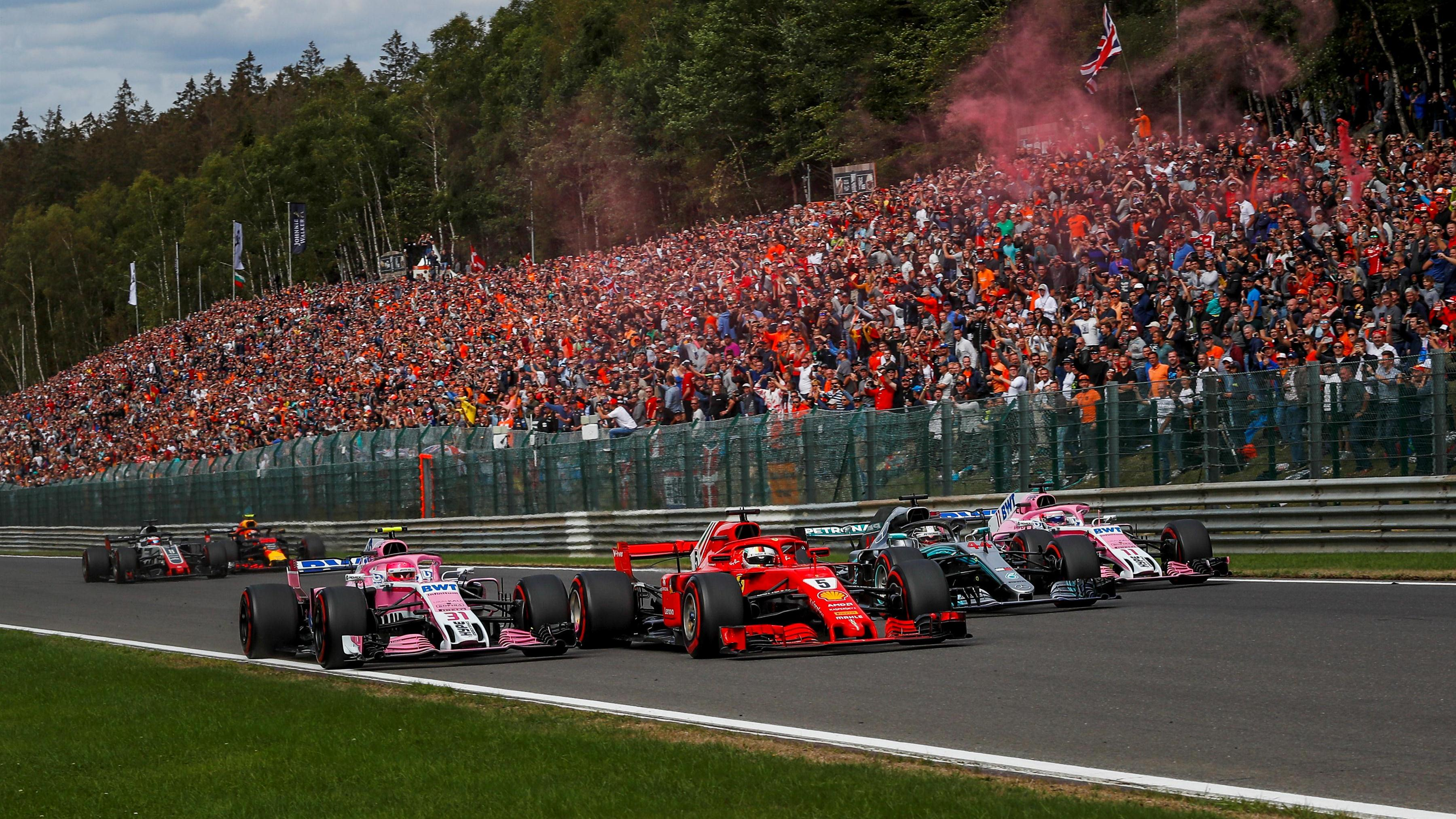 Force India Claim 18 Points After Almost Perfect Spa Weekend
