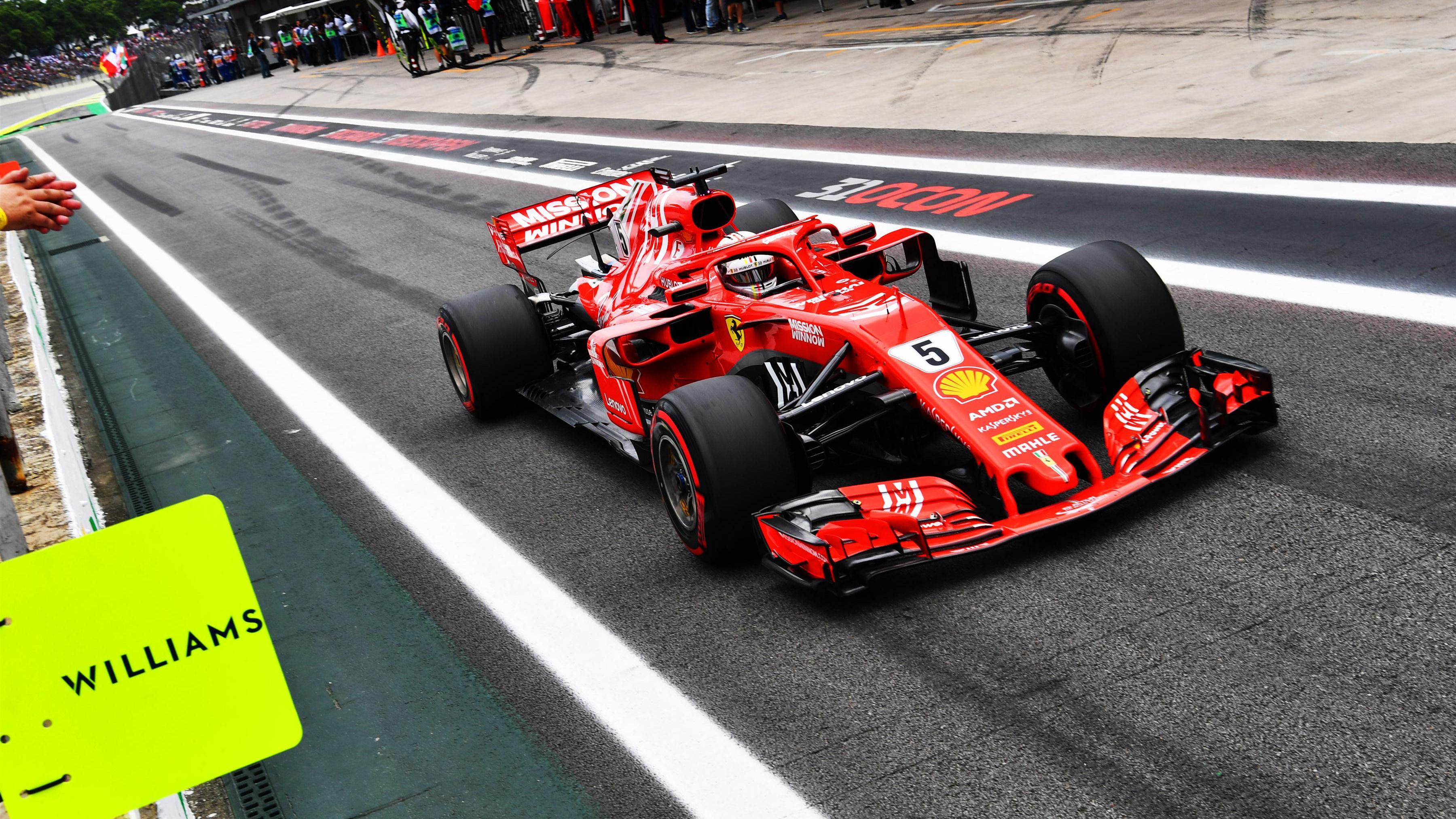 brazilian grand prix 2018 free practice 3 report vettel leads hamilton formula 1. Black Bedroom Furniture Sets. Home Design Ideas
