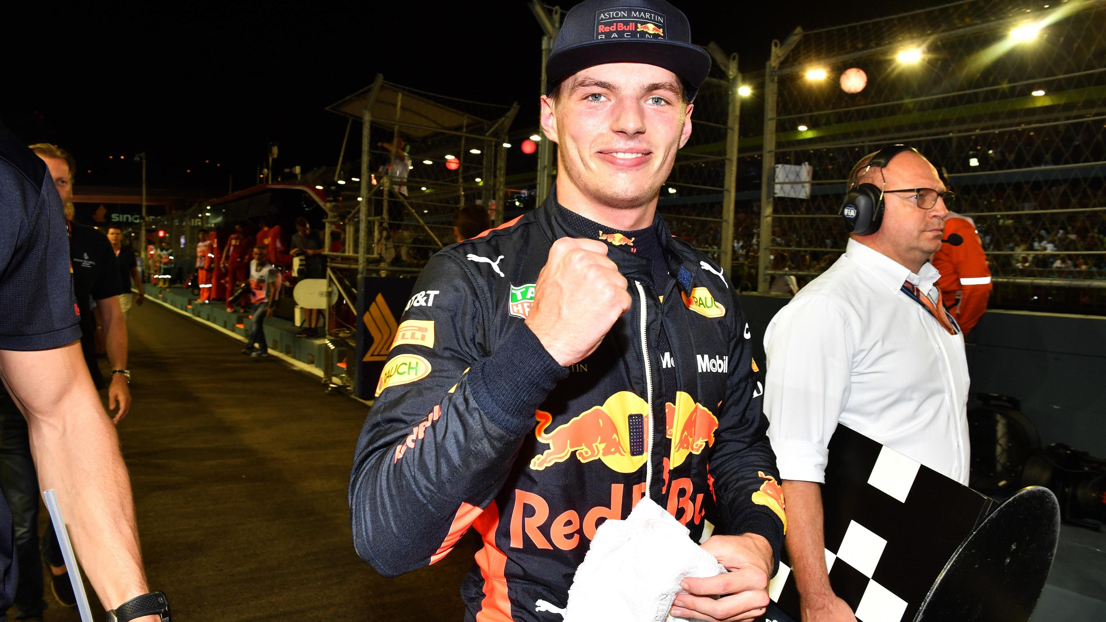 Second On The Grid Feels Like A Victory Verstappen