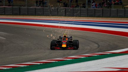 Raikkonen wins US Grand Prix, Ricciardo puts fist through wall