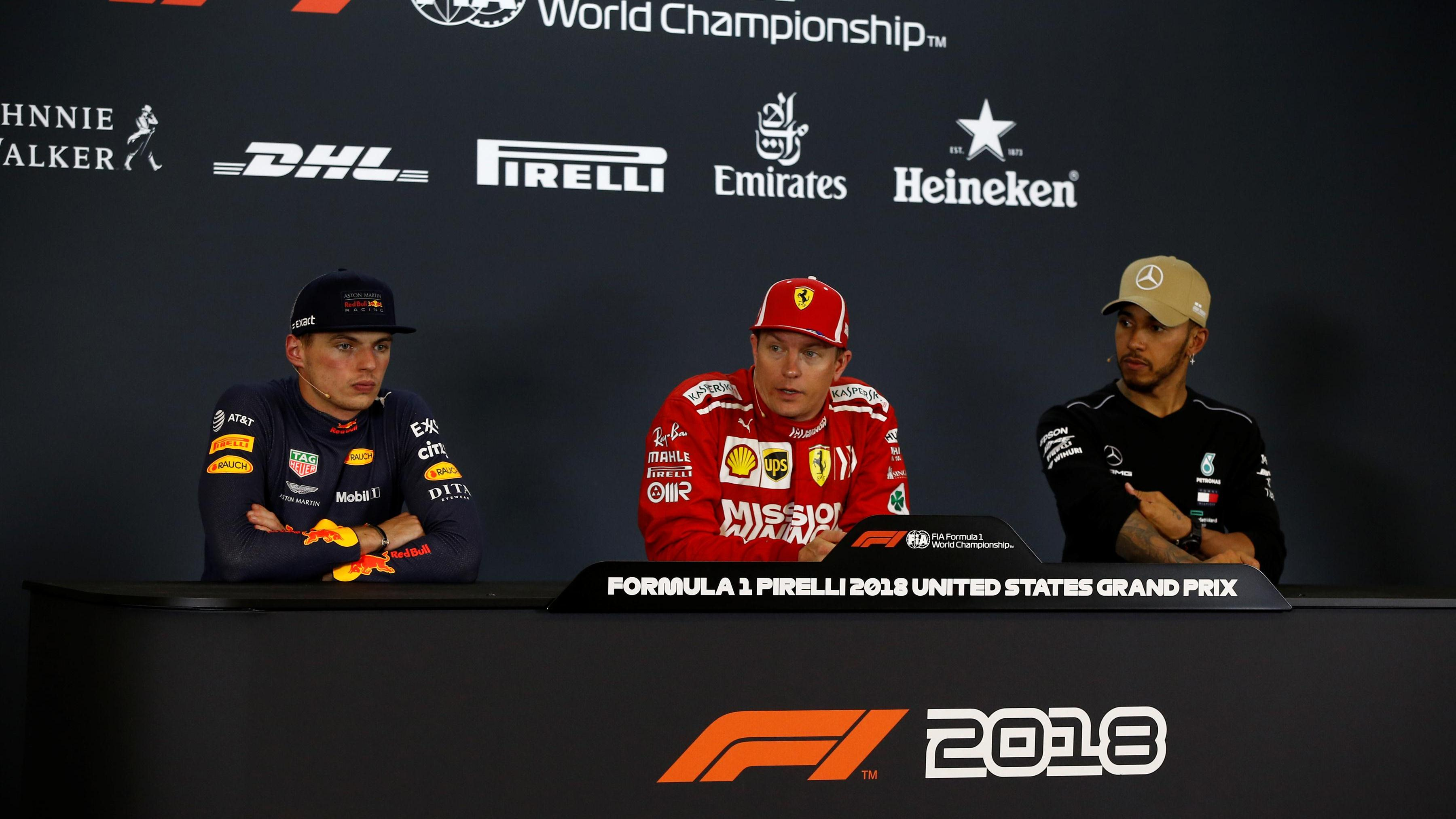 679dbe41225 FIA post-race press conference - United States. 21 October 2018