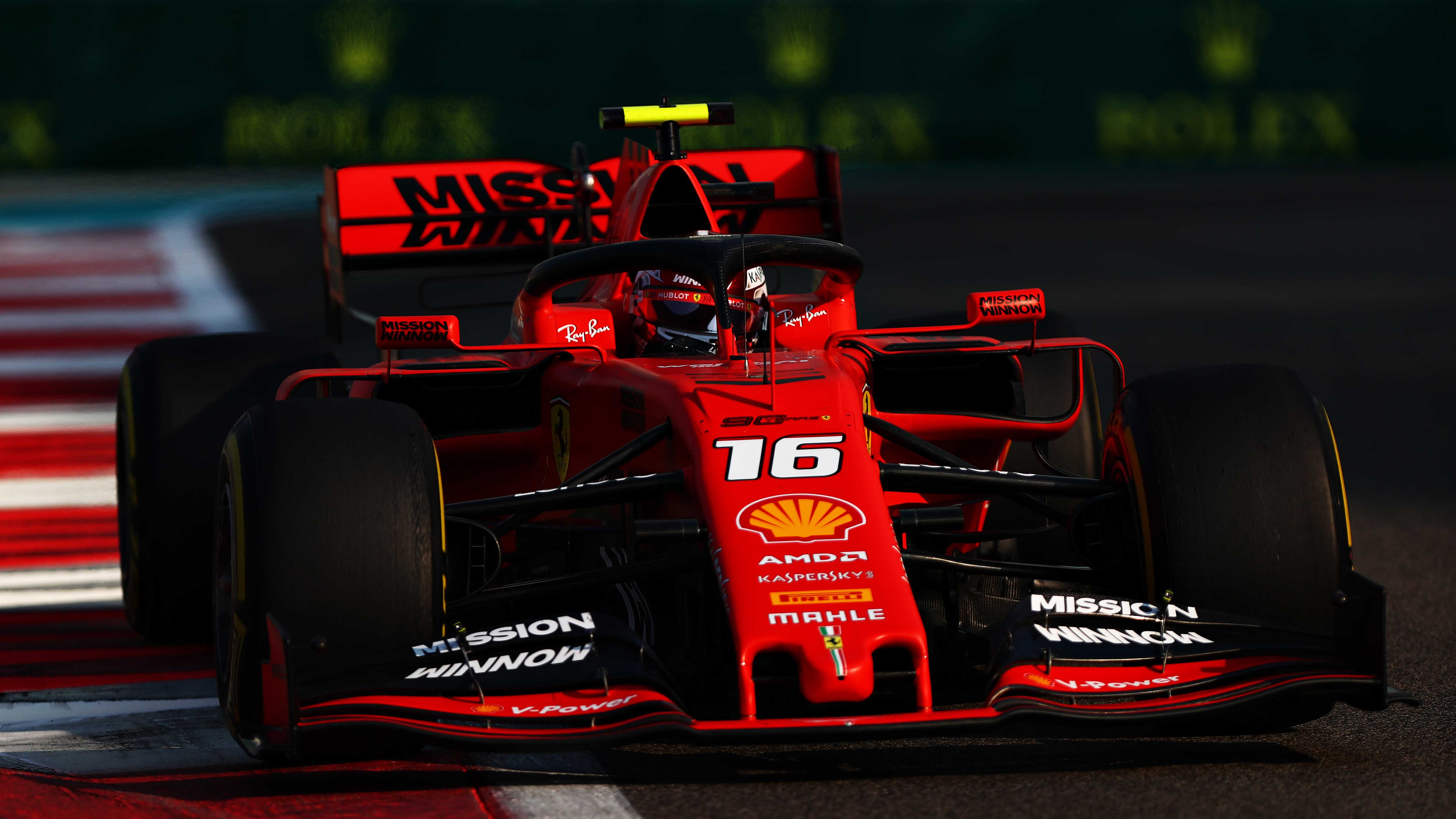 Ferrari S Leclerc Facing Post Race Investigation In Abu Dhabi Formula 1