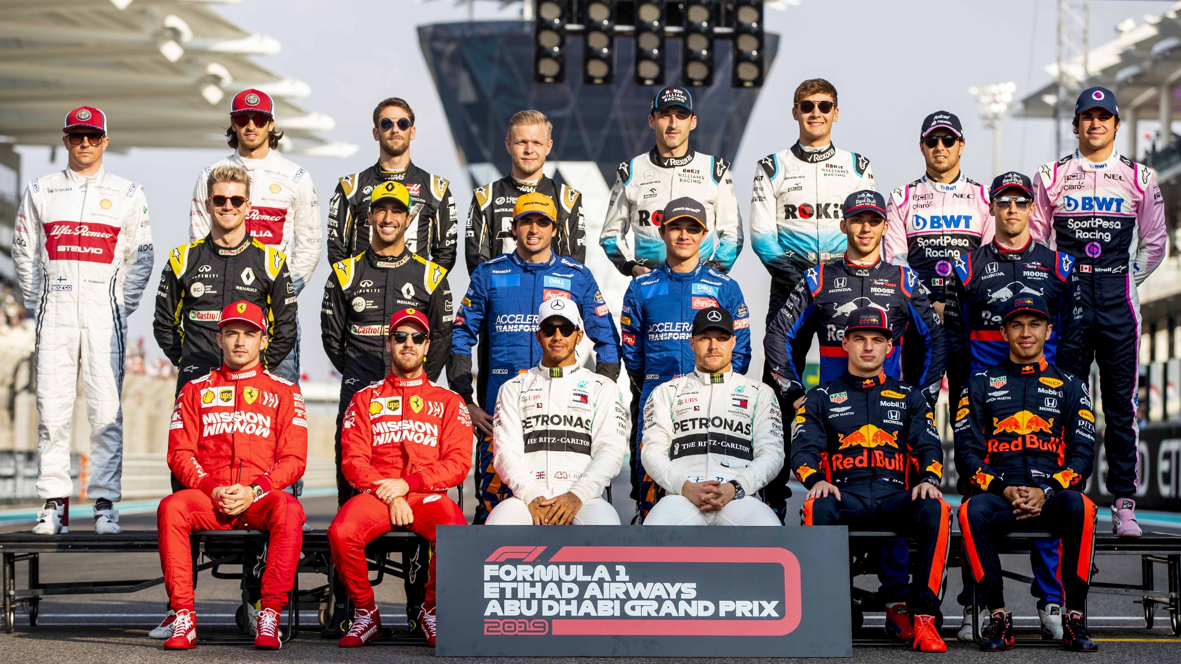 Revealed F1 S Team Bosses Choose Their Top 10 Drivers Of 2019 Formula 1