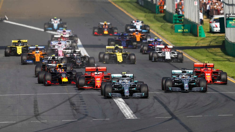 F1 unveils record 22-race calendar for 2020