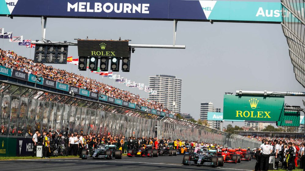 70th F1 season set to begin in Melbourne on 15 March 2020